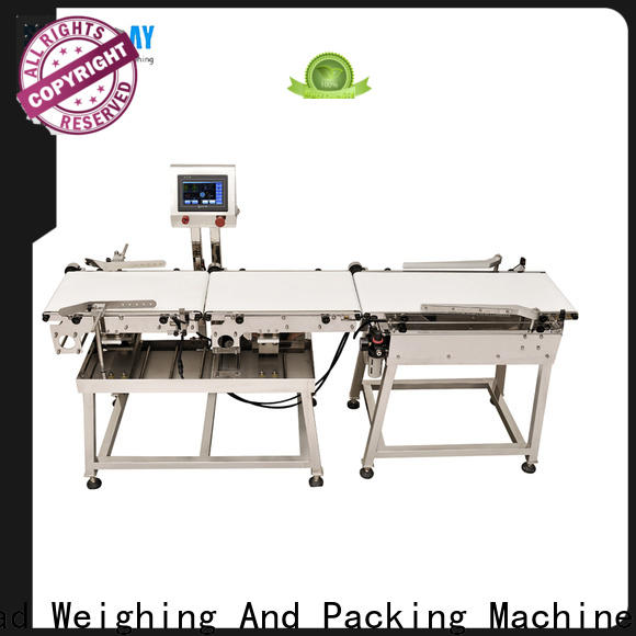 first-rate check weigher conveyor inquire now for food packing