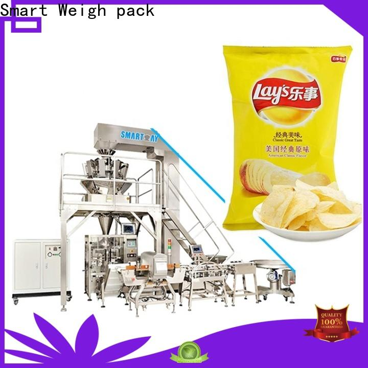 Smart Weigh pack machine vertical vacuum packaging machine supply for chips packing