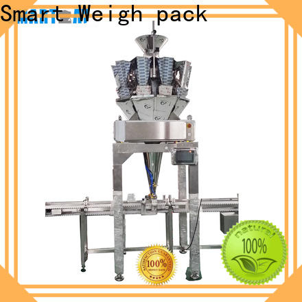 Smart Weigh pack bags vertical form fill and seal machines manufacturers for meat packing