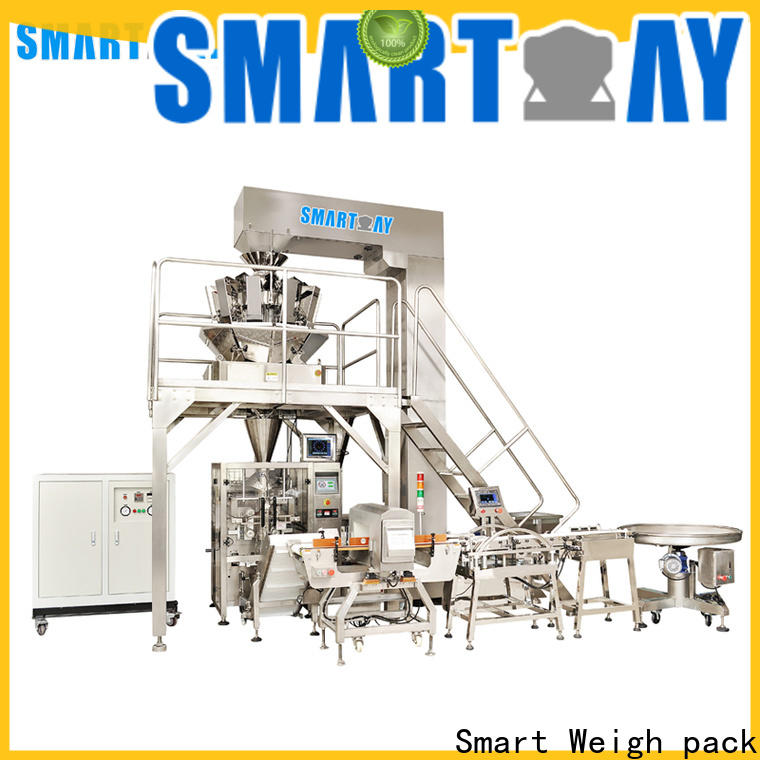 Smart Weigh pack sunflower vertical filling machine for business for salad packing