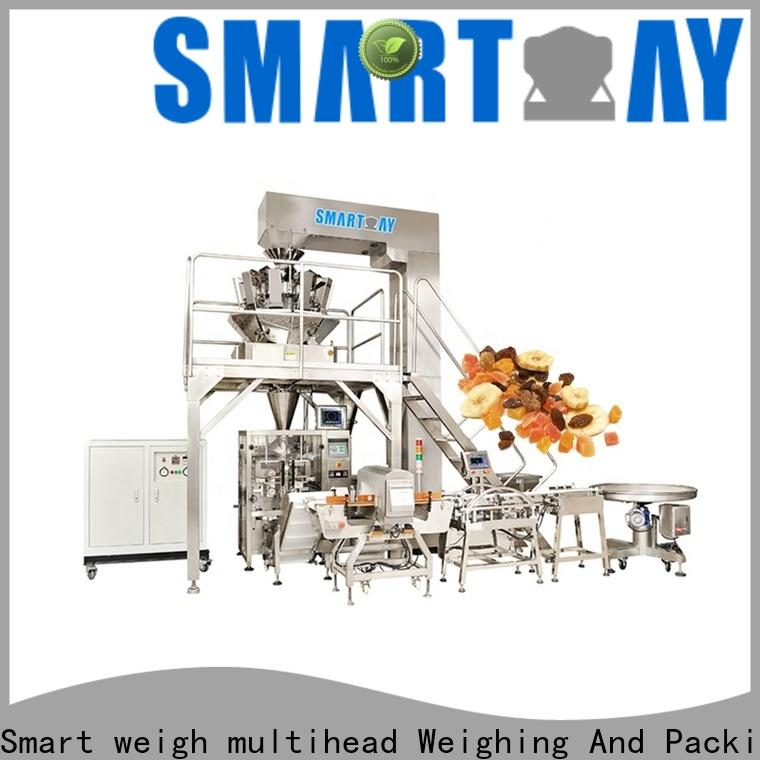 Smart Weigh pack latest vertical form fill seal packaging machines factory for food packing