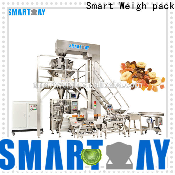 Smart Weigh pack best vertical filling machine supply for salad packing
