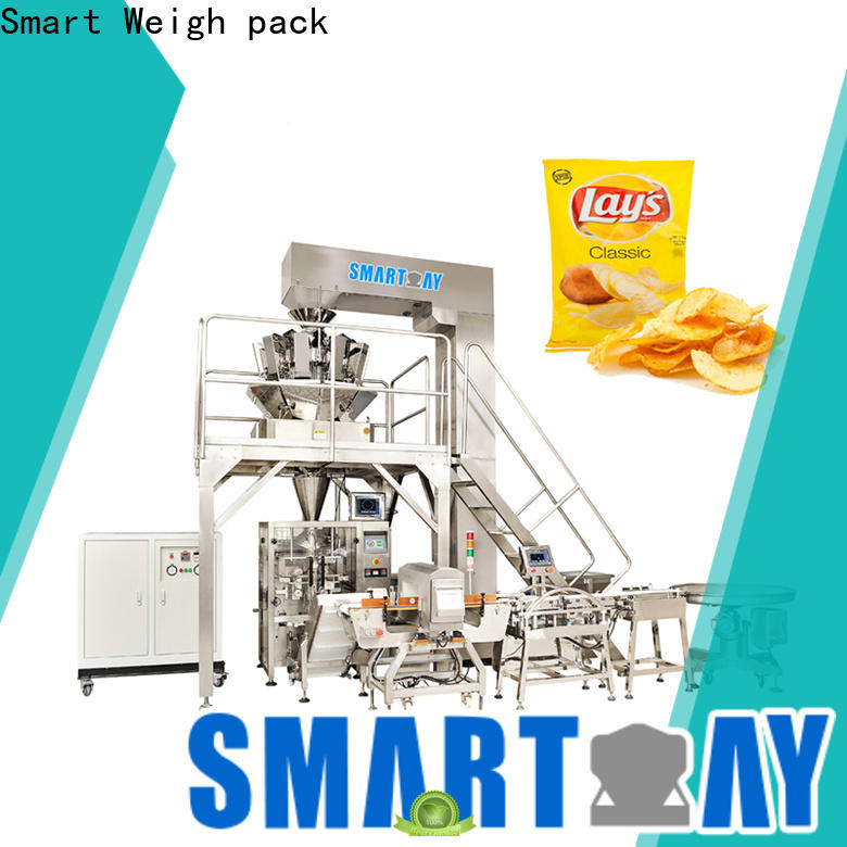 Smart Weigh pack pillow automatic vertical packing machine suppliers for meat packing