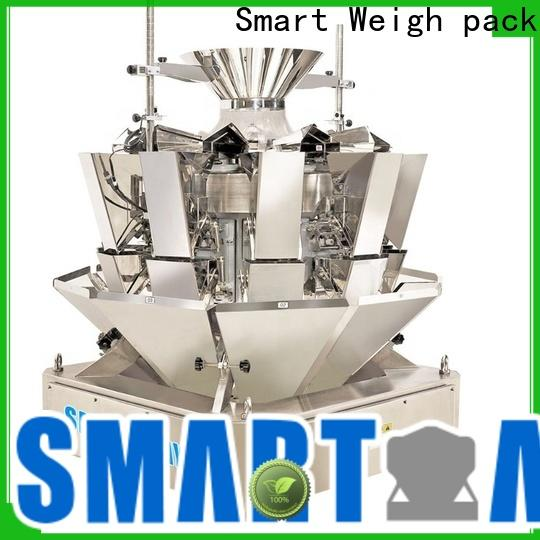 Smart Weigh pack 16l bulk multi head weigher with good price for food packing
