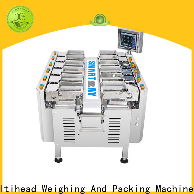Smart Weigh pack combination linear head weigher suppliers for food packing