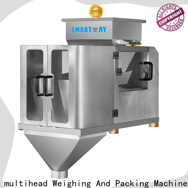Smart Weigh pack electronic linear weigher supply for food labeling