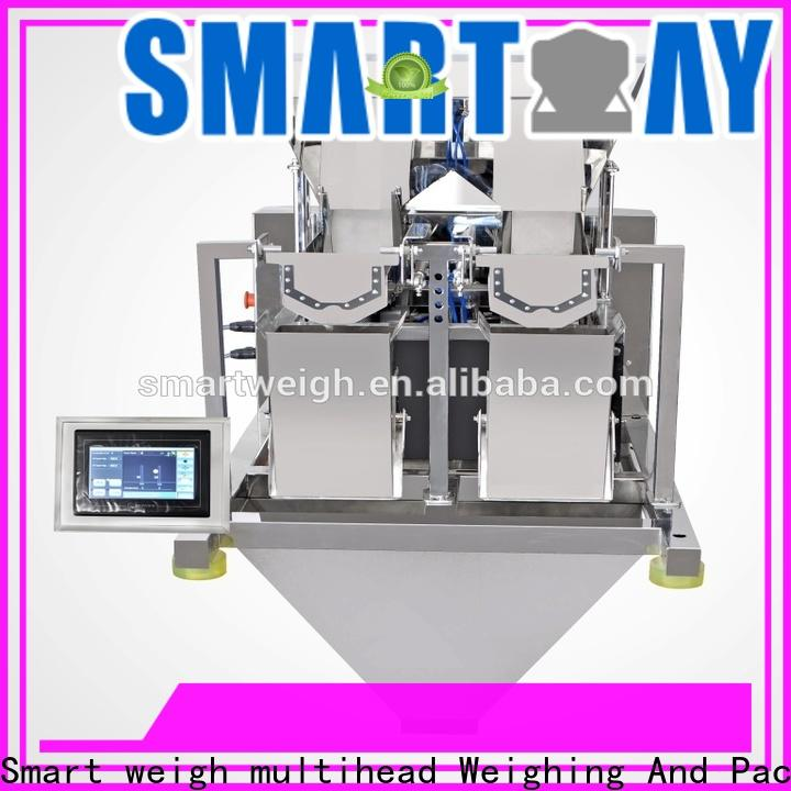 Smart Weigh pack weighing linear head weigher manufacturers for food weighing