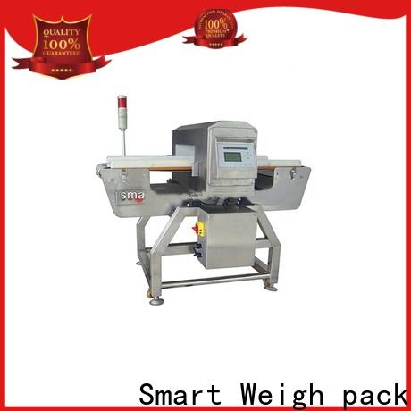 Smart Weigh pack smart metal detectors conveyor systems factory price for foof handling