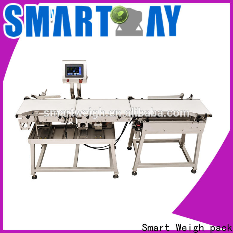 stable industrial metal detector conveyor swc220 with cheap price for food labeling