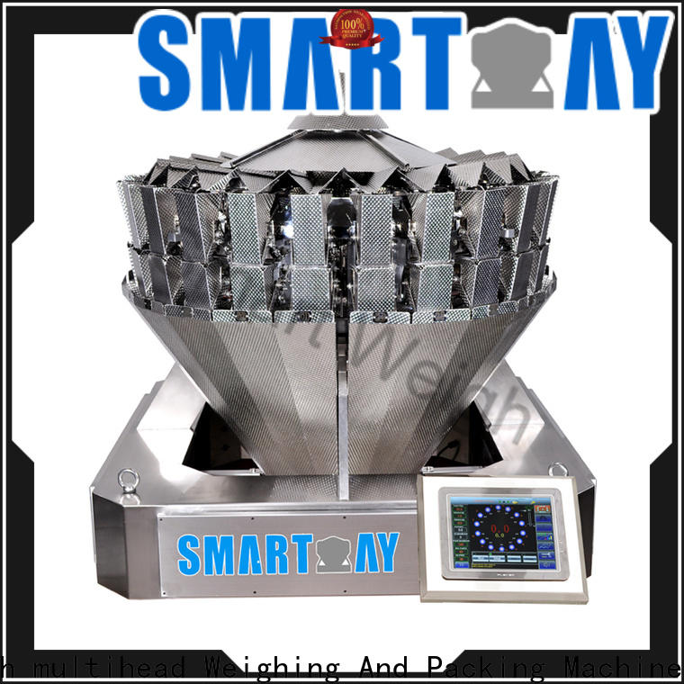 Smart Weigh pack best multihead weigher packing machine for sale factory for foof handling