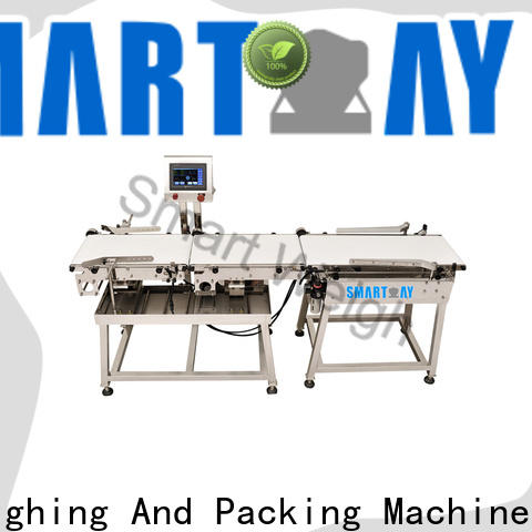 Smart Weigh pack top check weigher machine factory price for food packing