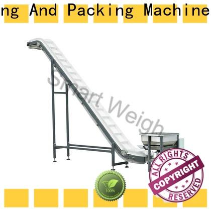 Smart Weigh pack steel elevator conveyor with cheap price for food weighing