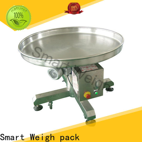 Smart Weigh pack infeed conveyor machine inquire now for food labeling