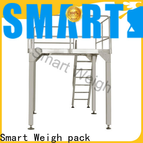 Smart Weigh pack best work platforms for sale order now for food labeling