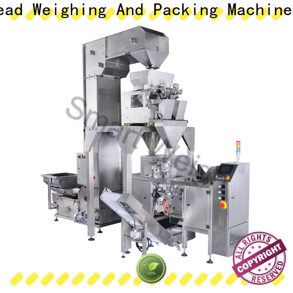 Smart Weigh pack fried multi-function packaging machine for business for meat packing