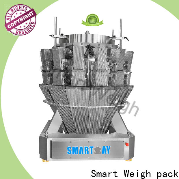 Smart Weigh pack latest multihead weigher free design for foof handling