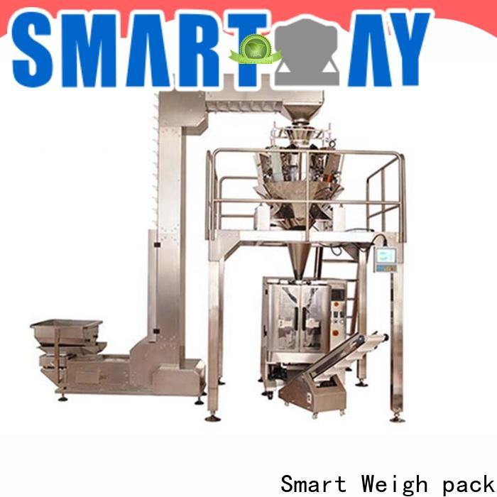 Smart Weigh pack grams luggage packing machine with cheap price for food labeling
