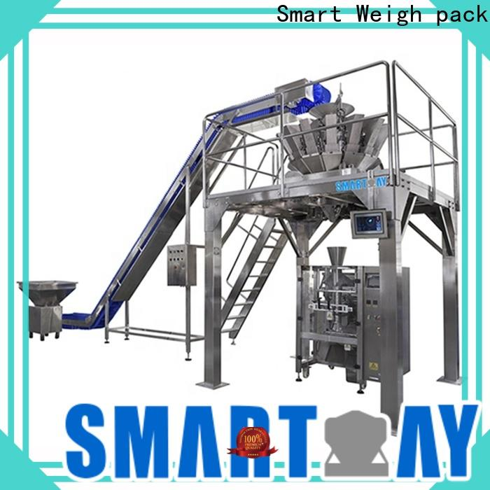 Smart Weigh pack semi automatic packing machine price inquire now for food weighing