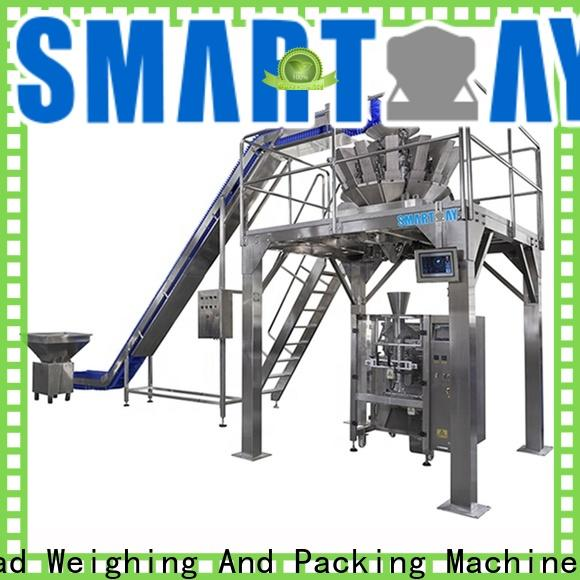 Smart Weigh pack pouch packing machine manufacturer with cheap price for food labeling