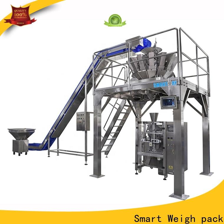 stable packet packaging machine seal for foof handling
