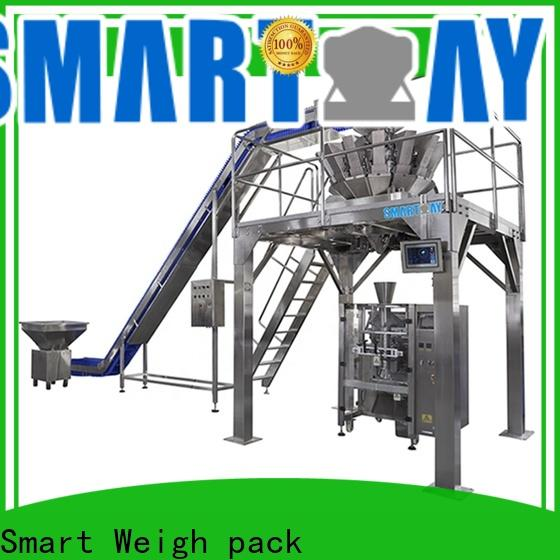 Smart Weigh pack eco-friendly semi automatic packing machine factory price for food weighing
