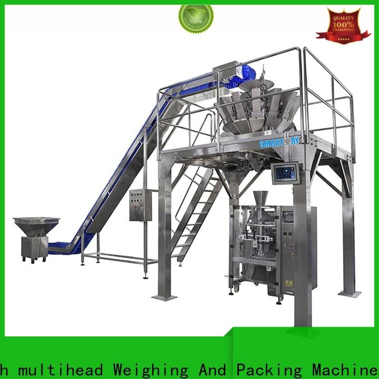 Smart Weigh pack walnut pillow packing machine manufacturers for food weighing