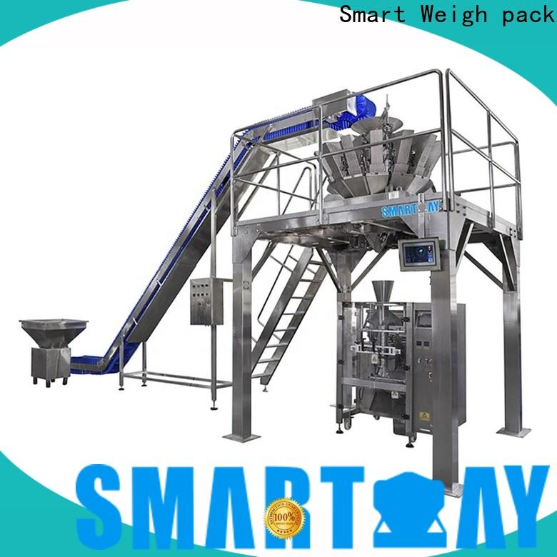 Smart Weigh pack producing automatic bagging machine company for food weighing