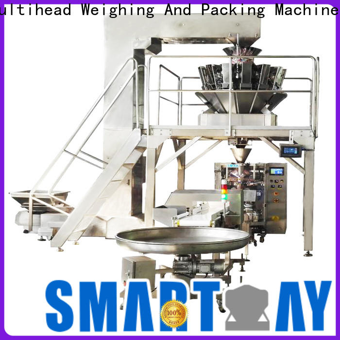 Smart Weigh pack first-rate pillow packing machine for food weighing