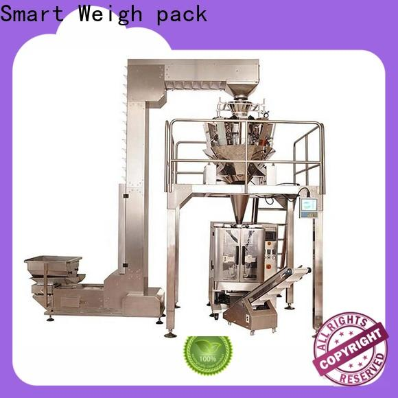 Smart Weigh pack top vertical packing machine China manufacturer for food labeling