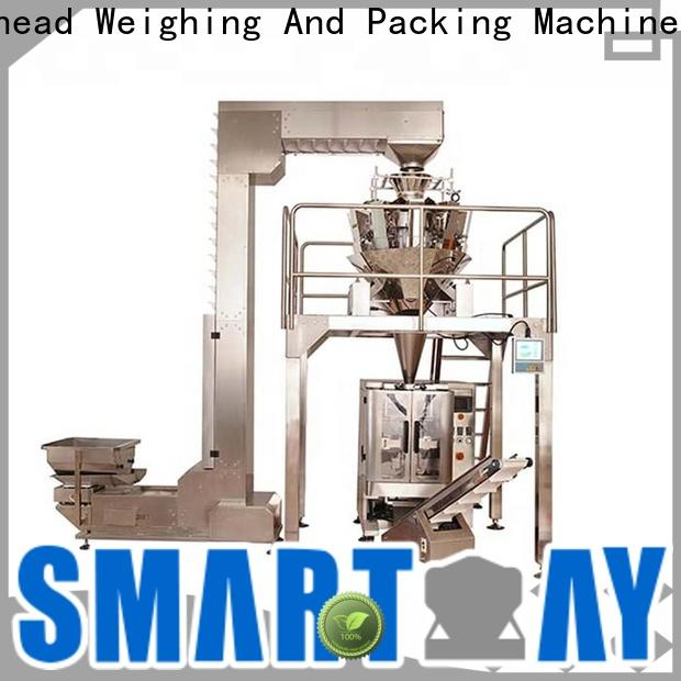 Smart Weigh pack new sugar pouch packing machine in bulk for food labeling