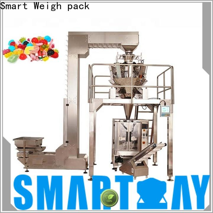 Smart Weigh pack latest automatic pouch packing machine in bulk for food packing