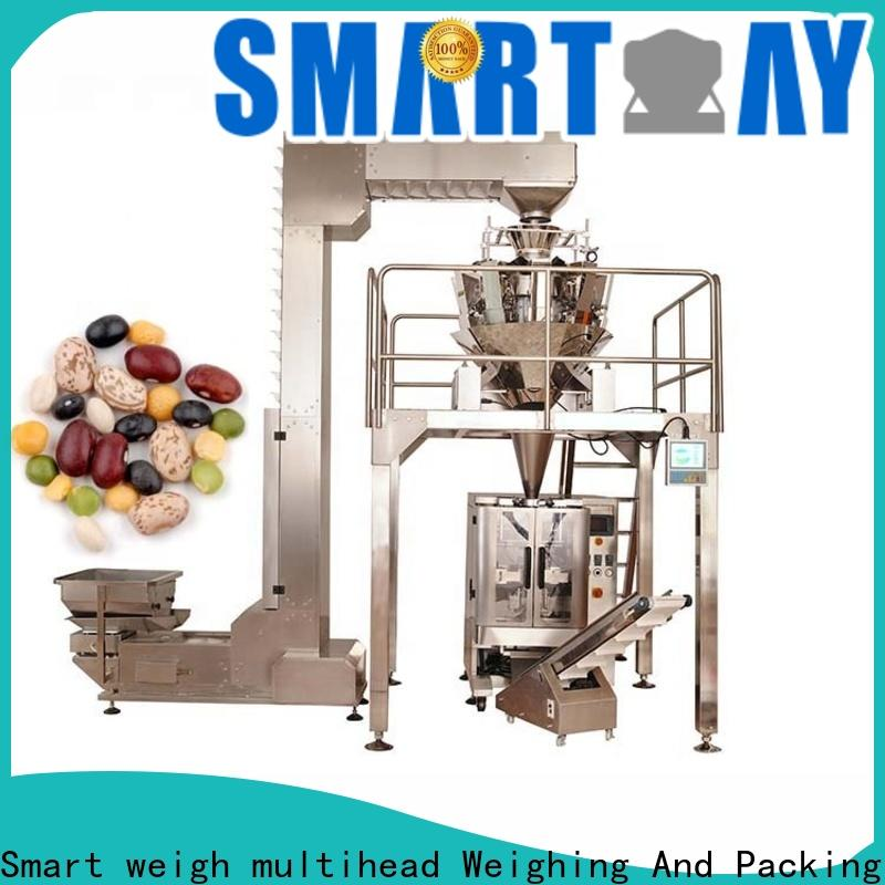 Smart Weigh pack safety automatic filling machine customization for food packing