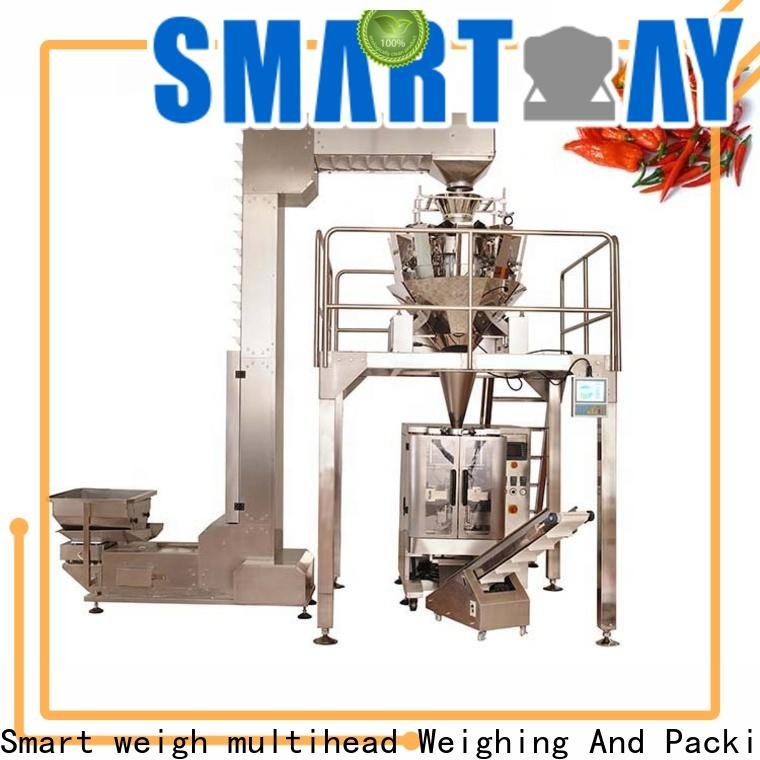 Smart Weigh pack top rotary filling machine supply for food labeling