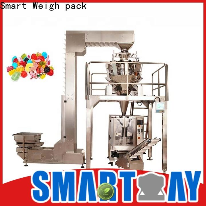 Smart Weigh pack cashew salt packaging equipment in bulk for food labeling