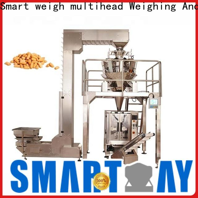 Smart Weigh pack dog air packing machine for business for food labeling
