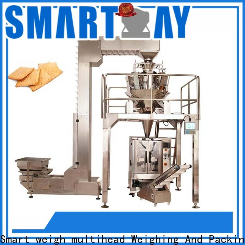 Smart Weigh pack safety sugar packing machine for sale for food labeling