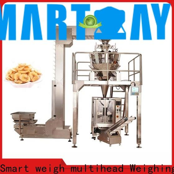Smart Weigh pack first-rate bread packaging machine for business for food labeling