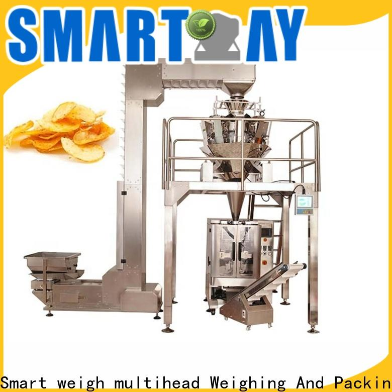 Smart Weigh pack stable automatic filling machine for food labeling