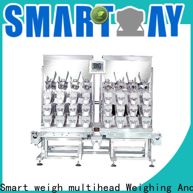 Smart Weigh pack advanced hopper packaging machine with cheap price for food labeling