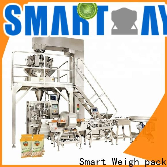 Smart Weigh pack nuts food wrapping machine suppliers in bulk for food labeling