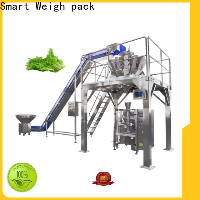 Smart Weigh pack high-quality vertical filling machine supply for salad packing