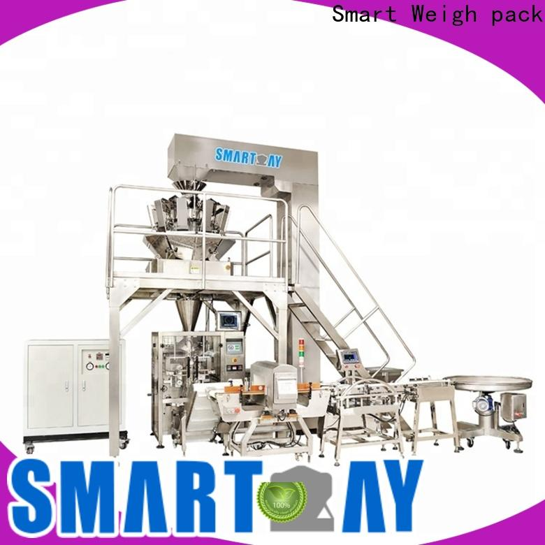 Smart Weigh pack best vertical form fill seal machine manufacturers for food packing