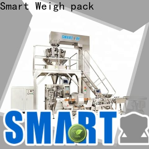 Smart Weigh pack vertical form fill and seal machines supply for salad packing