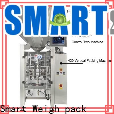 Smart Weigh pack latest vertical packaging machine for frozen food packing