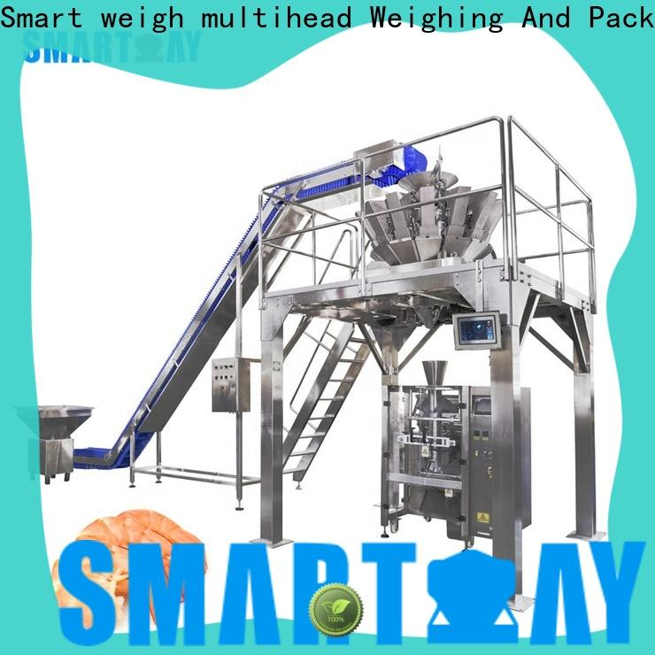 vertical form fill seal packaging machines snacks company for food weighing