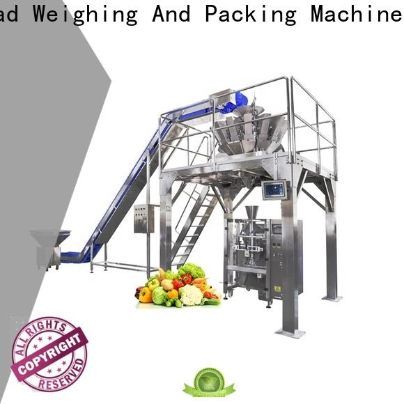 Smart Weigh pack foodrice vertical packing machine factory for food weighing