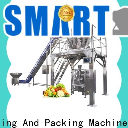 Smart Weigh pack economic vertical bagging machine for business for meat packing