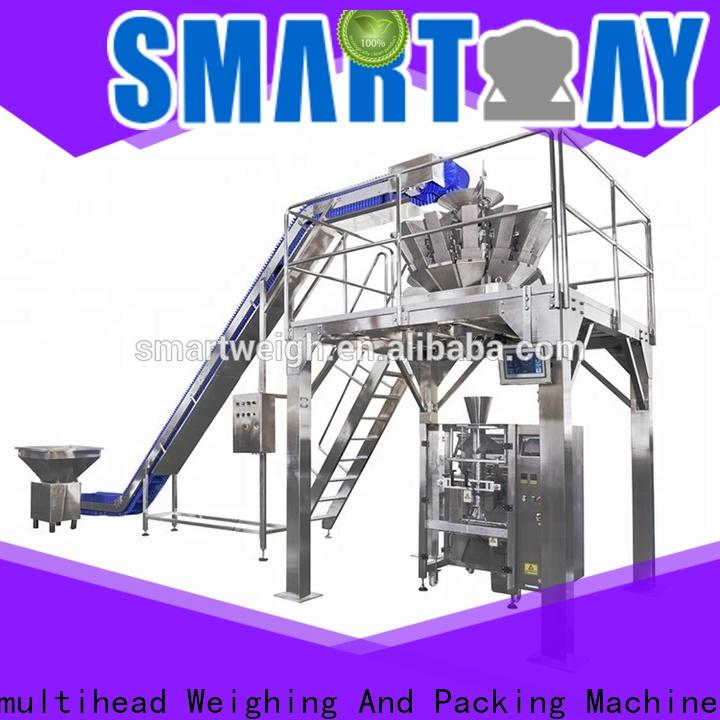 Smart Weigh pack new pouch packing machine supply for salad packing