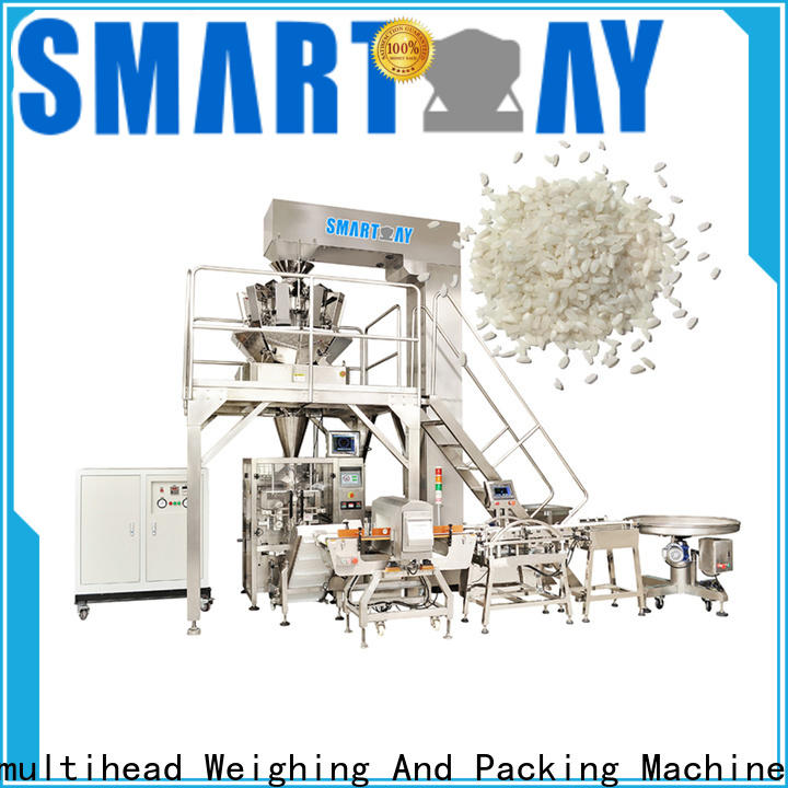 Smart Weigh pack granule vertical form fill seal machine company for chips packing