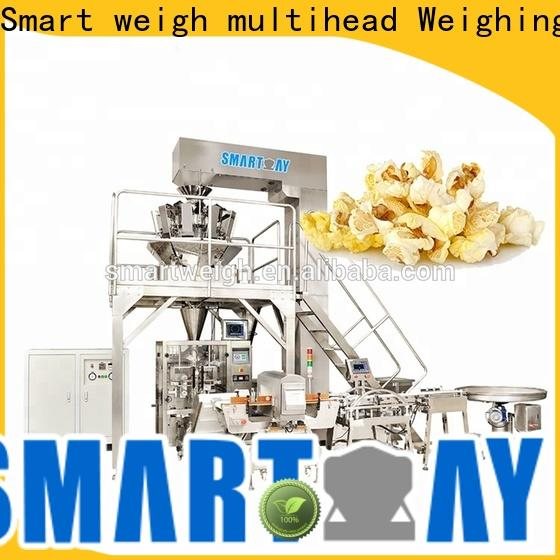 Smart Weigh pack top vertical form fill and seal machines supply for salad packing